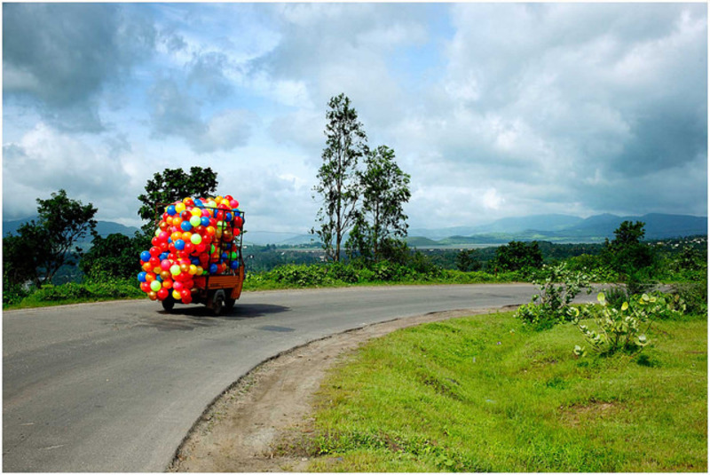 colourful road  - A Bump In The Road