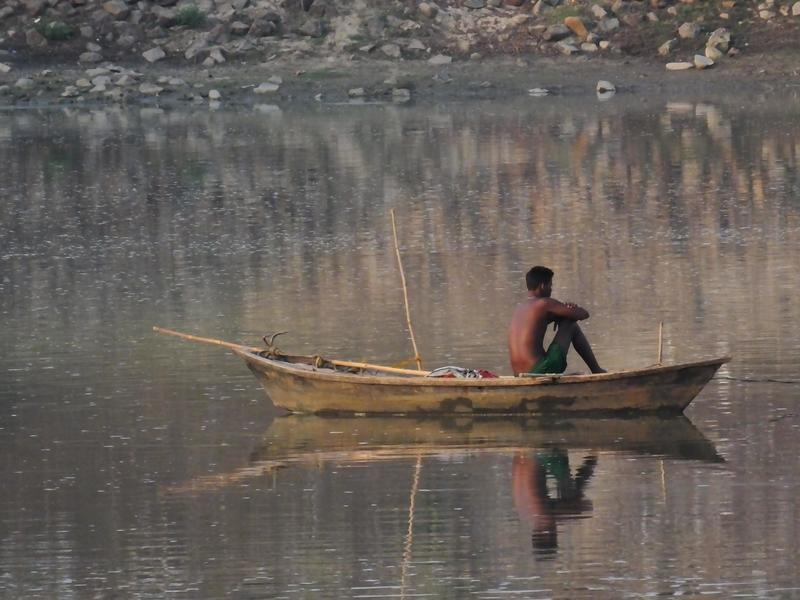 man in boat!  - Moving Past Loss